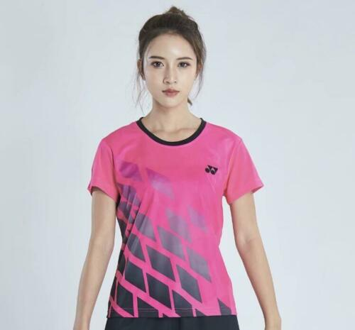 2019 New Outdoor spors Short Sleeve T-Shirt badminton clothes Women Tops 1921