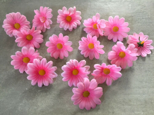 Streublüten 36 x Kamillenblüten rosa Streudeko