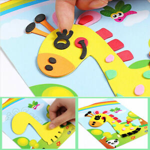 3D-EVA-Foam-Sticker-Puzzle-Game-DIY-Cartoon-Animal-Learning-Education-amp-fun-Toys