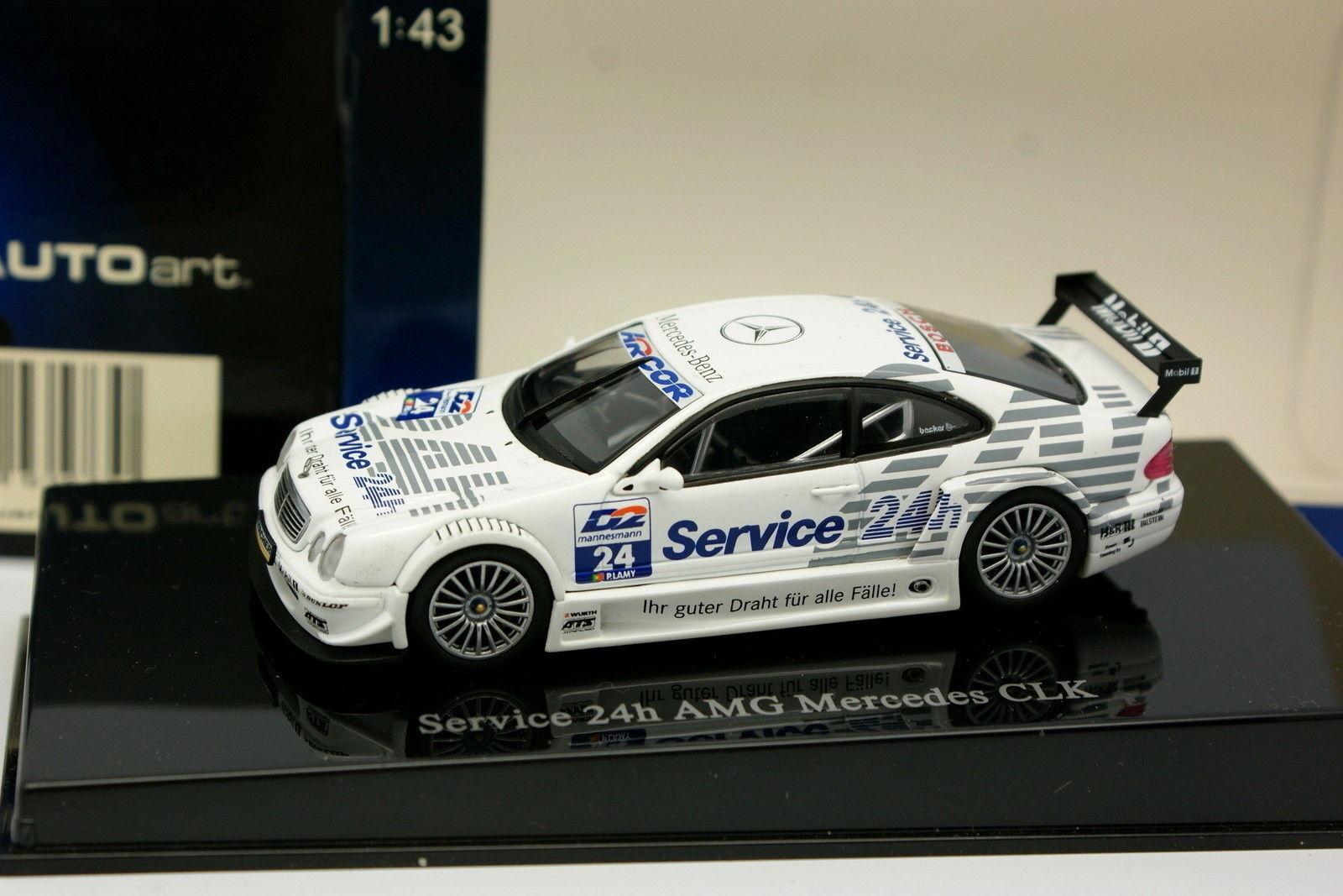 Auto Art 1 43 - Mercedes AMG AMG AMG CLK DTM Servizio 24H af2fc8