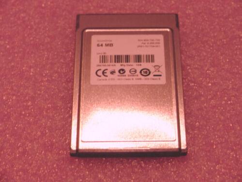 GPS NEW silicon Tech 64MB Flash PCMCIA ATA card Cisco Etc SLR camera