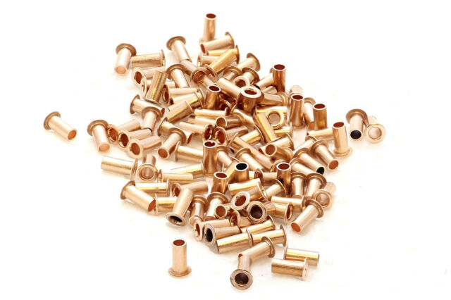 200x best quality pcb copper via vias  through hole rivets . ID 0.6mm OD 0.8mm