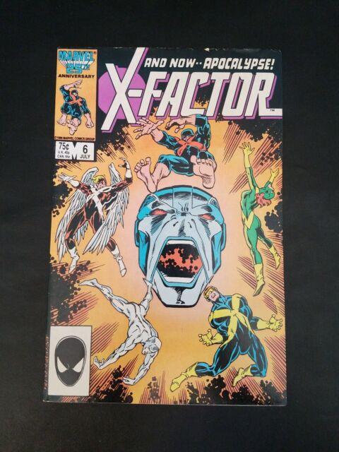 1986 Marvel X-Factor #6 CBCS 9.8 1st Appearance of Apocalypse