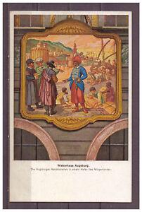 Ansichtskarte-Augsburg-Weberhaus-1922-AK