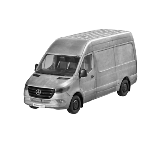 Mercedes-Benz-W-907-910-Sprinter-Box-Truck-2018-Rugged-Edition-1-18-New-Boxed