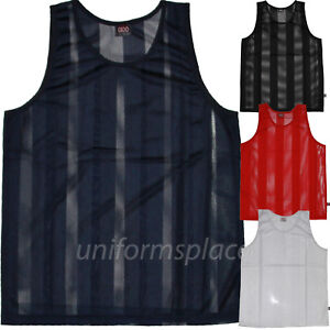 Mens-Sleeveless-T-shirts-Mesh-Jersey-Basketball-Big-amp-Tall-Tee-size-XL-to-6XL