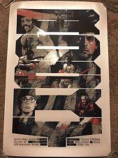 Domaradzki Krzysztof Rocky Movie Art Print Poster Mondo Sylvester Stallone Krabz