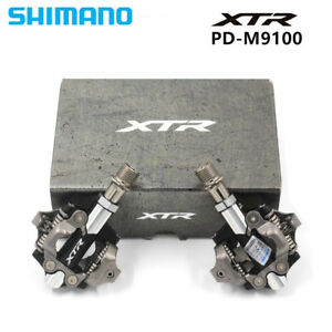 Shimano-XTR-XC-PD-M9100-Clipless-Pedals-SPD-MTB-Self-locking-Pedal-With-SH51