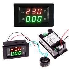 Ac 300v 50a Led Dual Digital Voltage Ampere Panel Meter Voltmeter Ammeter