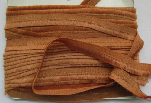 Beautiful Vintage Wool Fringe Cropped Tailored Look Light Brown  French