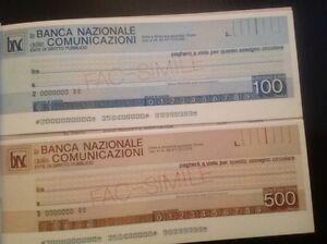 Facsimile-assegni-circolari-Banca-Nazionale-delle-Comunicazioni
