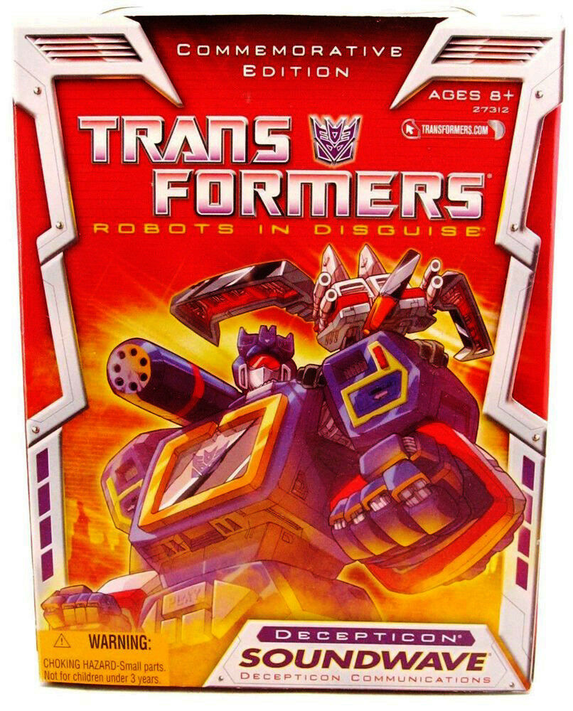 Transformers Toys R US Commemorative RID Soundwave Laserbeak Ravage Rare Mint