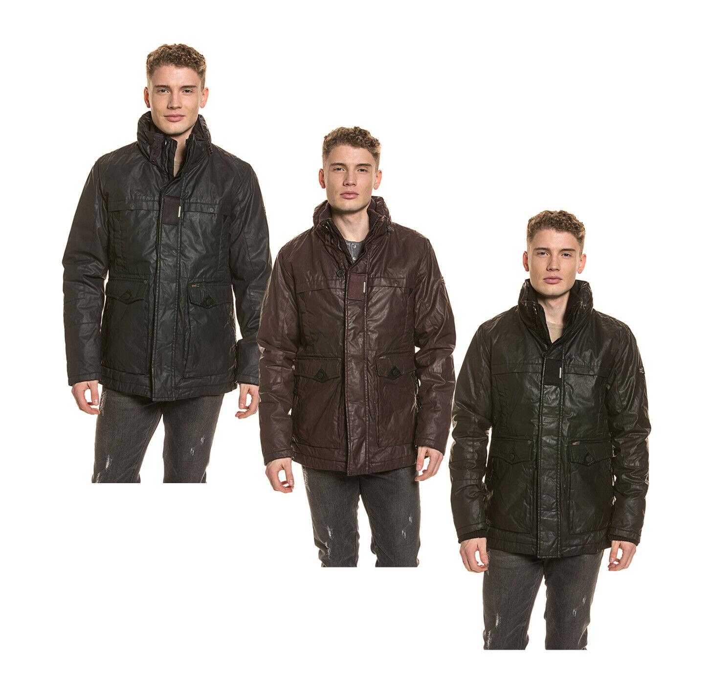 Khujo señores invierno chaqueta vellón cuello alto capucha cremallera regular   n ° 1 en línea