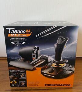 Thrustmaster T16000M FCS Hotas Flight Stick & Throttle Controller, Priority Mail