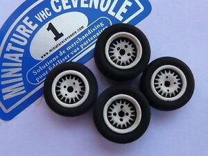 Lot-de-4-Roues-1-43-SPEEDLINE-pour-RENAULT-5-TURBO-ASPHALTE-etc