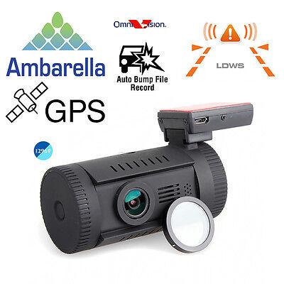 мини0826 HD1296P AmbarellaA7 автомобильный видеорегистратор GPS тире камерой CPL