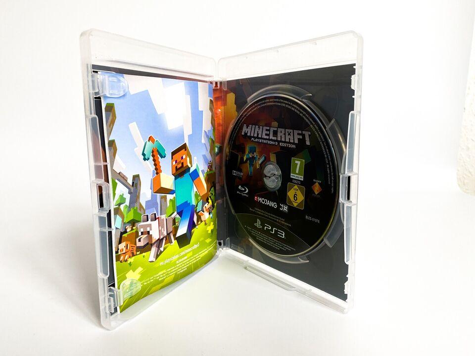 Minecraft, Playstation 3, PS3