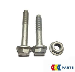 Nuevo-genuino-Volkswagen-Audi-suspension-Delantera-Horquilla-Brazo-Pernos-Set-Kit