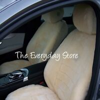 Toyota Tundra All Years Custom Made Sheepskin Seat Covers Combo Front Pair 30mm