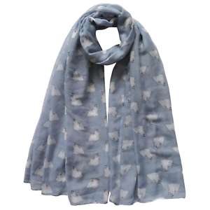 MALTESE DOG SCARF LADIES NEW TO RANGE LOVELY GIFT AVAILABLE IN 2 COLOURS