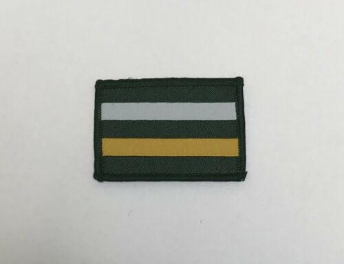 Army Patch Military Royal Yeomanry Yeo TRF Badge Hook Loop