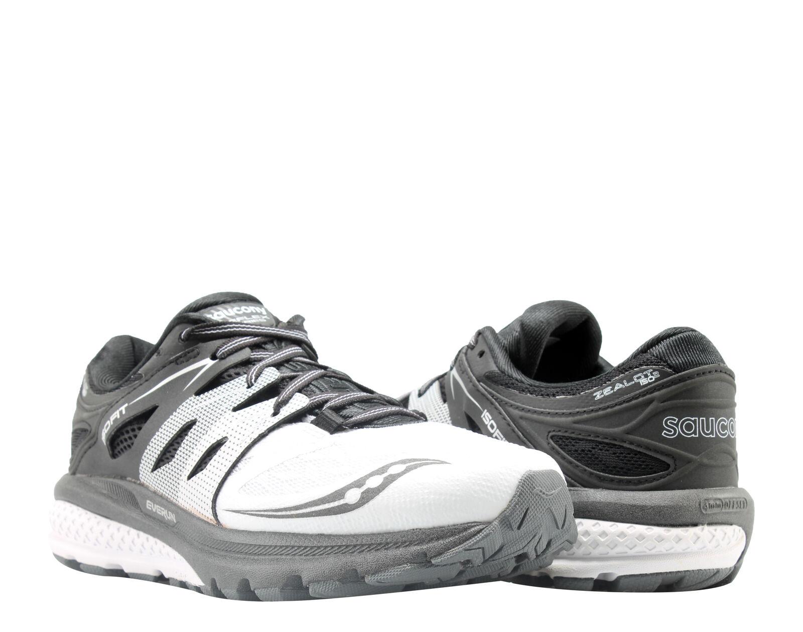 Saucony Zealot ISO 2 Reflex White White White Black Silver Women's Running shoes S10332-1 9ab77d