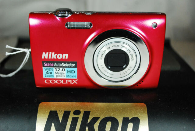 Excellent Nikon COOLPIX S2550 12MP Compact Digital Camera - Choice of Colours