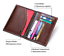 Men-Genuine-Leather-Passport-Holder-Wallet-Travel-ID-Cards-Case-Cover-Organizer thumbnail 6
