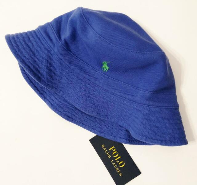 f10c745ca Polo Ralph Lauren Bucket Hat Mens Size Large / XL CLC Royal A13