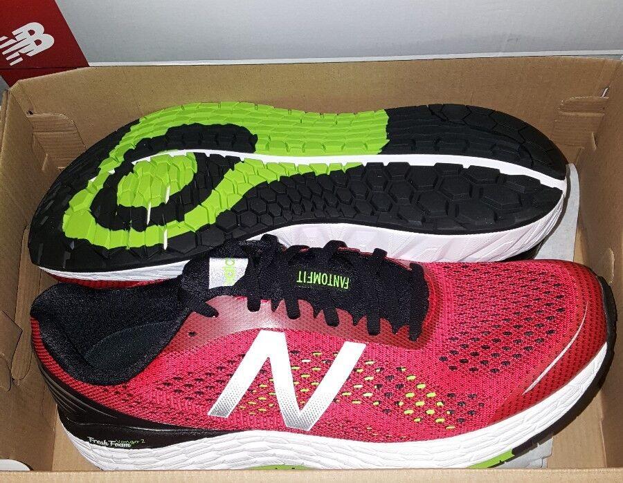 New Balance Fresh Foam Flyknit Running Shoes Multiple Sizes Red Scarpe classiche da uomo