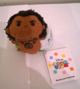 Disney-Store-Exclusive-Disney-Tsum-Tsum-Moana-Mini-Maui-Soft-Toy-New-With-Tags