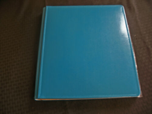 Creative Memories Teal Blue PicFolio Milestones Photo Album 11x14,
