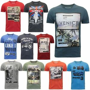 924601ae731 New Mens River Road 100% Cotton Graphic Printed Vinatage T-shirt ...