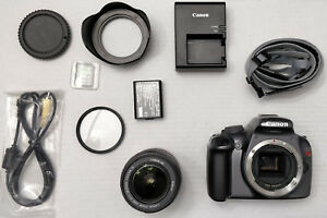 Details about Canon EOS Rebel Canon EOS Rebel T3 12 2MP Digital SLR Camera  - Black w/ extras