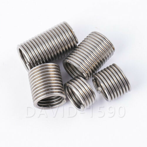 10pk Metric Fine M12x1.5 x 1.5D Length Helicoil Insert Wire Thread Insert 304SS