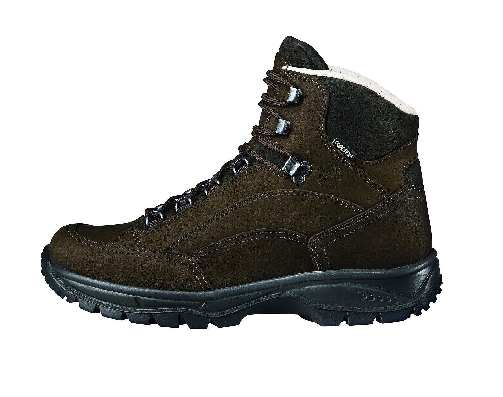 Nuevo Hanwag Zapatos de Montaña Canyon Wide Tamaño 10 (44,5 ), Tierra