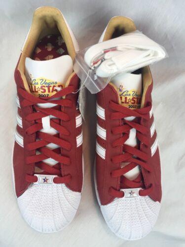 gamuza roja para Shoes All de Big hombre Las Stars Baller Adidas cuero de Nba 2007 Vegas 11D ZvAqWRRP