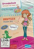 CD-ROM + Lernspaß mit Hexe Lilli + Deutsch 3. und 4. Klasse + Lernen +WIN/MAC