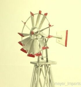 Cargo-To-Go-Layout-Windmill-All-Metal-GRAY-New-O-GA