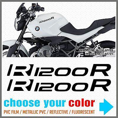 2pcs adh/ésif Compatible avec Les Motos R1200 GS BMW Motorrad R 1200 R1200GS Silver