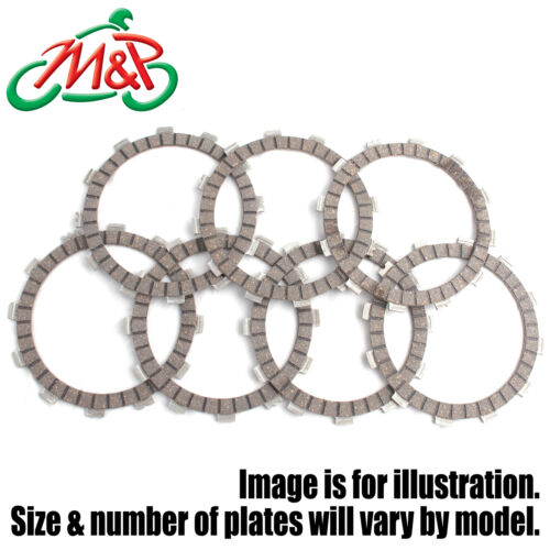 CBR 125 RW 2010 Set Clutch Friction Plates Fibre