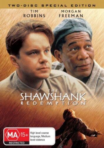 1 of 1 - The Shawshank Redemption (2-DISC SPECIAL EDITION) DVDS STILL SEALED REGION 4