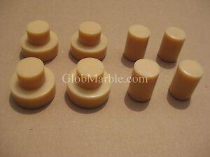 Faucet knock out forms for concrete/cement counter top faucet knockouts 8 molds