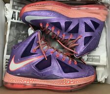 0f8a537a53abd item 7 Nike Lebron X 10 AS All Star Area 72 Purple Crimson Galaxy 583108-500  Sz 8 -Nike Lebron X 10 AS All Star Area 72 Purple Crimson Galaxy 583108-500  Sz ...