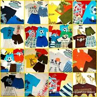 Boys Lot 4 4t Gymboree Gap Summer Clothes Sets Outfits Shorts Tops 2