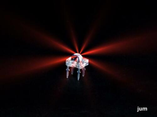 100° 20  x  Led Leuchtdiode  Superflux   Rot 1500 mcd Abstrahlwinkel ca