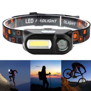 XPE-COB-LED-Headlamp-USB-Rechargeable-Flashlight-Mini-Headlight-head-light-Torch