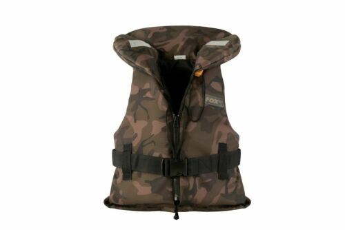 Fox Carp /& Coarse Fishing Camo Kids Life Jacket