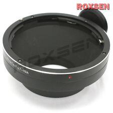 Pentax 67 6x7 p67 Obiettivo per Nikon F Mount Adapter per d4 d800 d610 d7100 DF d500