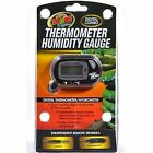 Zoo Med Laboratories 0 Digital Thermometer Humidity Gauge